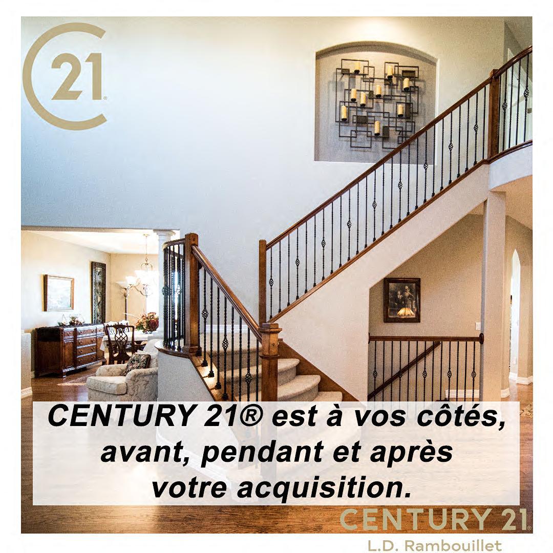 CENTURY 21® est a vos cotés,